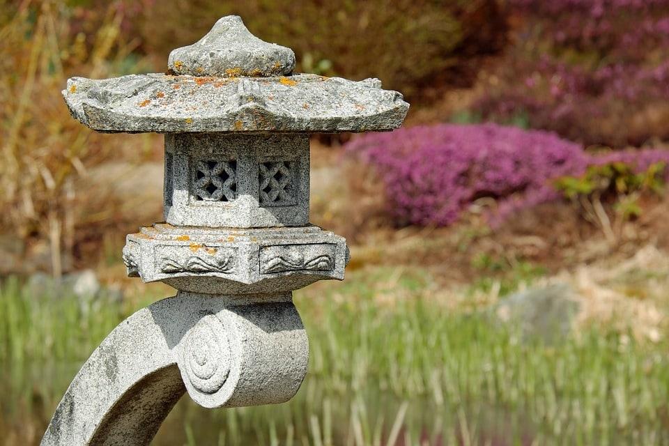 Création du jardin zen